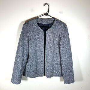 Orvis Wool Navy Tweed Blazer